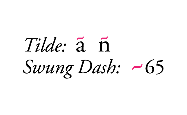 tilde-swungdash