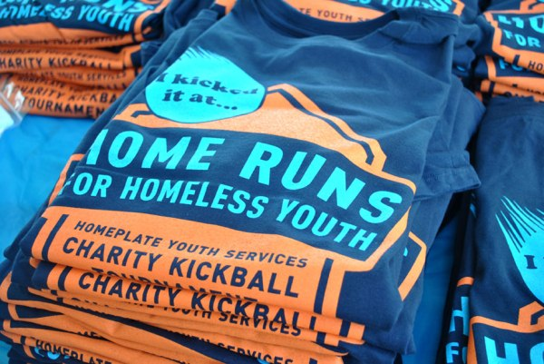 2015 Home Runs for Homeless Youth T-shirts