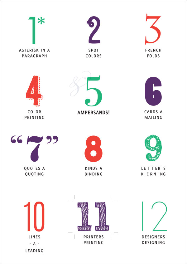 Designer's 12 Days of Christmas