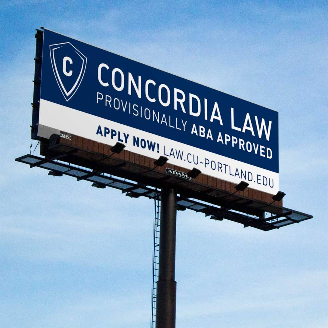 Concordia Law Billboard