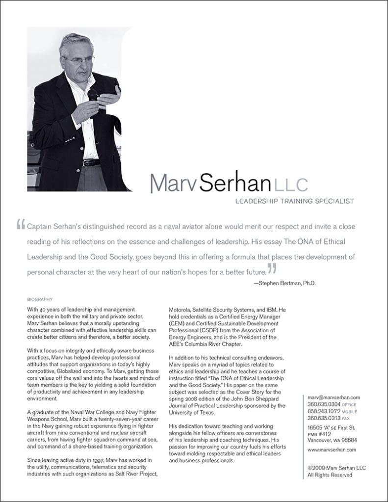 Marvin Serhan Handout